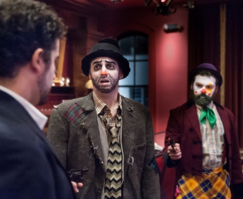 Alex Martinez Wallace (as Happy), Keith Claverie (Dusty) and Richard Alexander Pomes (Twinkles). (Photo by John B. Barrois)