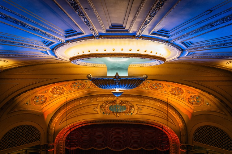 Interior shot of the recently reopened Orpheum Theatre. (Photo by James Shaw)