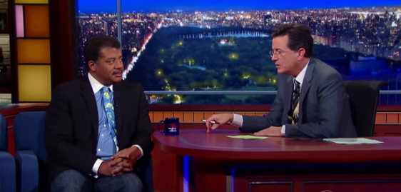 """On """"Late Show with Stephen Colbert"""""""