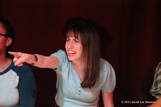 "Cecile Monteyne in ""You Don't Know the Half of It."" (Photo by David Lee Simmons)"