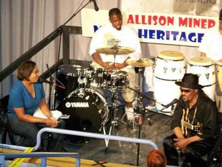 DJ Soul Sister interviews Chuck Brown at the 2009 New Orleans Jazz and Heritage Festival